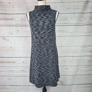 Silence + Noise high neck sleeveless sweater dress